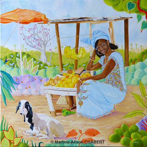 Diana-la-princesse-du-Sénégal-50-x-50-cm