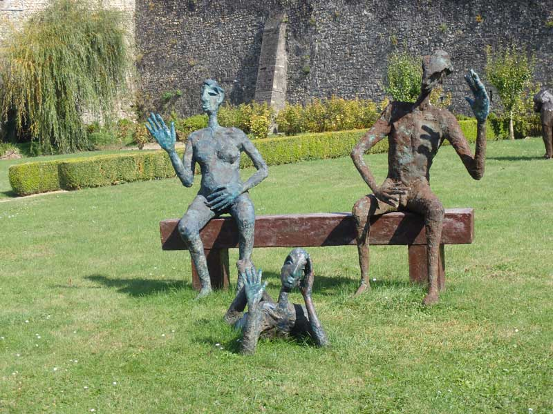 sculptures-chateau